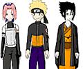 Naruto Character Dress Up
