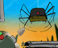 Lt. Fly Vs The Spiders From Above