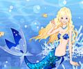 Sweet Mermaid Fairy Dress Up