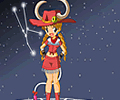 Zodiac Taurus Dress Up