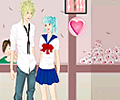 School Couple Dress Up