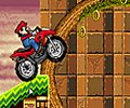 Mario ATV in Sonic Land