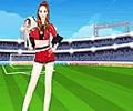 World Cup Princess Dress Up Game