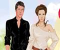 Angelina Jolie & Brad Pitt Dress Up