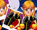 Amusing Halloween Girl Make Up