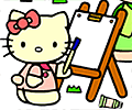 Colorir com Hello Kitty