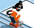 jogue Monkey Curling
