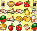 jogue Tasty Food Memory