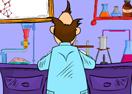 Cartoon Escape - Insane Scientist