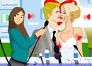 jogue Victoria e Beckham Kissing