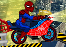 The Amazing Spider-Man Bike Game