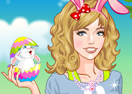 Beauty Easter Girl Dressup