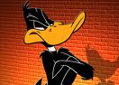 Daffy Duck Sky Diving