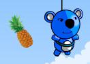 Blue Panda Fruits Catcher