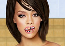 Rihanna at the Dentist