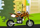 SpongeBob Bike Practice