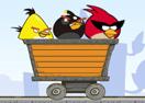 Angry Birds Dangerous Railroad