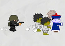 Zombie War on Paper