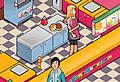 Burger restaurant 1