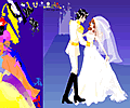Colorful Wedding Dress Up