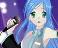 Anime Singer Girl Dress Up Game